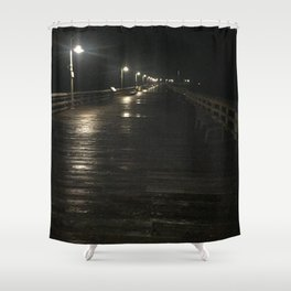 A walk alone Shower Curtain