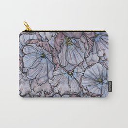 Irises Collage Carry-All Pouch