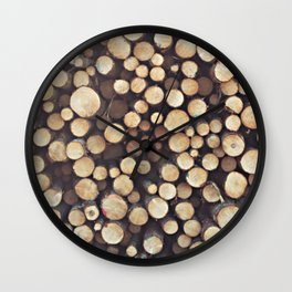 If I wood, wood you? Wall Clock
