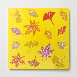 Autumn Leaves_C Metal Print