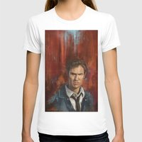 true detective T-shirts featuring True Detective by LucioL