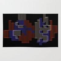 mario Area & Throw Rugs featuring Mario by Anastase Kyriakos