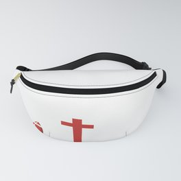 Sundays Are For Jesus And Football For College Football Fanny Pack