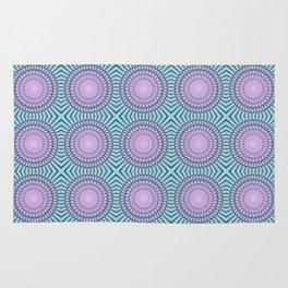 Candy illusion mandala Rug