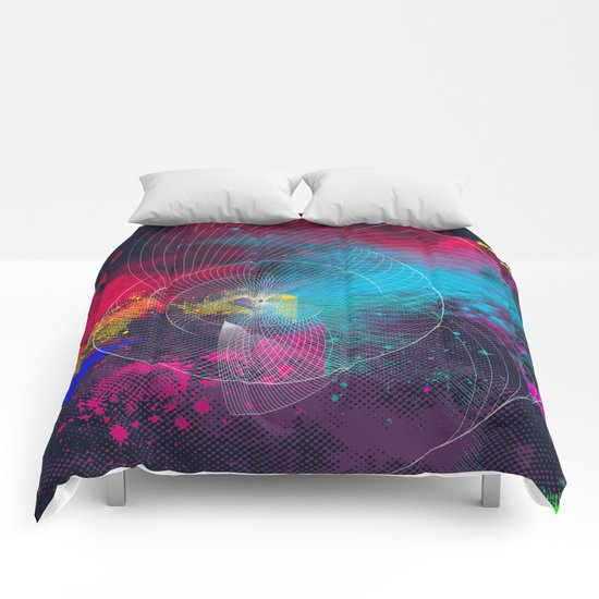 Longing for a colorful totality Comforters