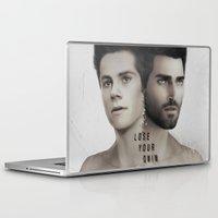 derek hale Laptop & iPad Skins featuring LoseYourMind - Stiles Stilinski / Derek Hale ( Sterek - Teen Wolf ) by Caim Thomas