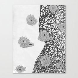 Sea of Bacteria  Canvas Print