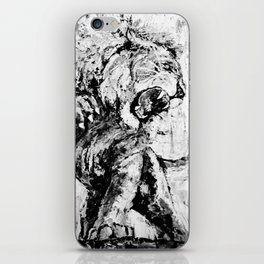 "Carmine the Lion ""Silver Version"" iPhone Skin"
