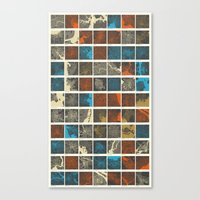 world maps Canvas Prints featuring World Cities Maps by Map Map Maps
