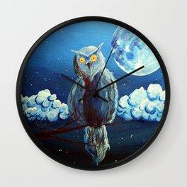 Le veilleur (The gard) Wall Clock