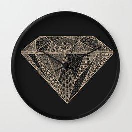 Diamonds in the Sky Wall Clock