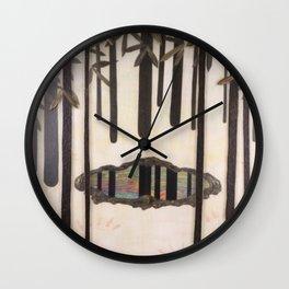 Magic Mirror Wall Clock