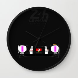 Minimal 918 Le Mans 2016 Wall Clock