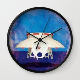 Unidentified Flying Object - UFO Wall Clock