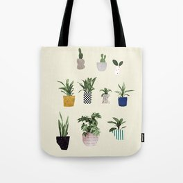 HOUSE PLANTS Tote Bag