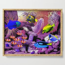 Under the Sea. Serving Tray