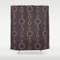 planets Shower Curtains featuring Planets by Mario Graciotti