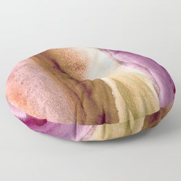 Watercolor Skin & Earth Tones, Calm and Soulful Home Goods Design Floor Pillow
