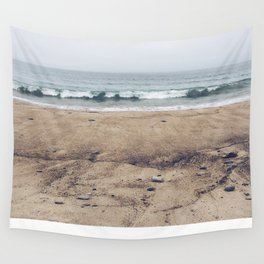 Stormy Sycamore Beach Wall Tapestry