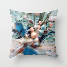 Just Beaching Throw Pillow