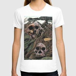 landscape sculls T-shirt