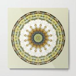 Mandalas from the Heart of Peace 5 Metal Print