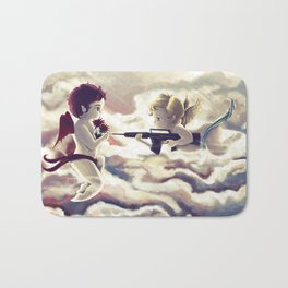 TWISTED RELATIONSHIPS Bath Mat