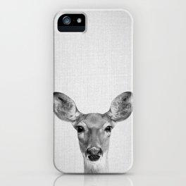 Doe - Black & White iPhone Case