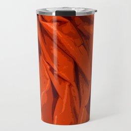 Red Curtain Creases Travel Mug