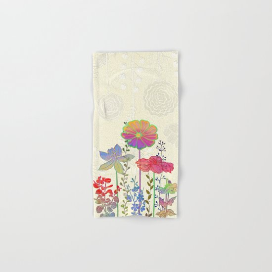 Flower Tales 4 Hand & Bath Towel