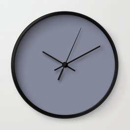 Blue Ocean Abstract ~ Blue-Grey Wall Clock