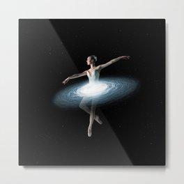 Galactic dancer Metal Print