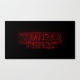 Stranger Thing Canvas Print
