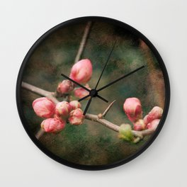 Spring's Poetry Wall Clock