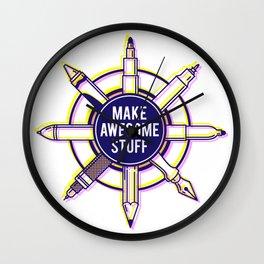 Make awesome stuff Wall Clock