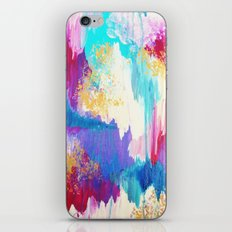 SWEET DREAMS - Lovely Bright Soft Pastel Modern Abstract Fun Nursery Ombre Design Acrylic Painting iPhone Skin