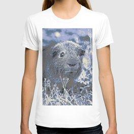blue guinea pig T-shirt