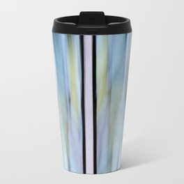 Buttery Lines (Abstract Blue) Travel Mug