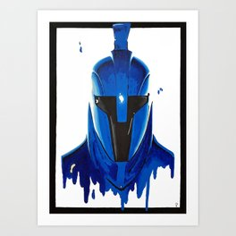 Indigo Strikes Back 2 Art Print