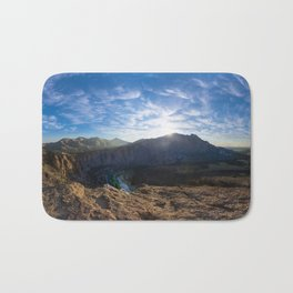 Smith Rock National Park and the river bend, Oregon Bath Mat