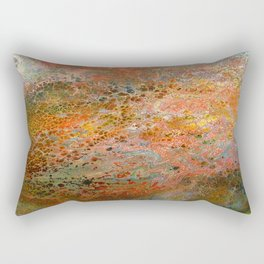 The surface of the planet Rectangular Pillow