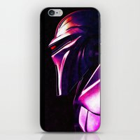 "battlestar iPhone & iPod Skins featuring ""Some Kinda' Crazy, Frakked Up Cylon Signal..."" by Cullen Rawlins"
