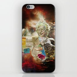Mother Loving Galaxy iPhone Skin