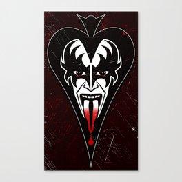 The Demon Canvas Print