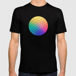 Spectrum Bomb! Fruity Fresh (HDR Rainbow Colorful Experimental Pattern) T-shirt