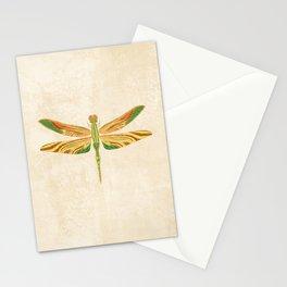 Antique Art Nouveau Dragonfly Stationery Cards