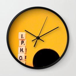 My phone Wall Clock