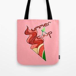 Summer Scoop - Watermelon Flavored Tote Bag