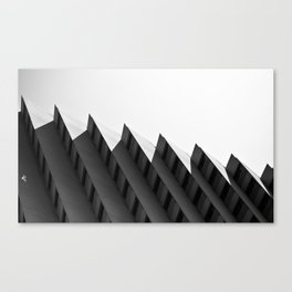 Step Building Canvas Print