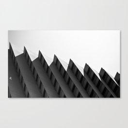 Step Building Canvas Print